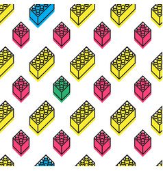 Memphis design pattern vector