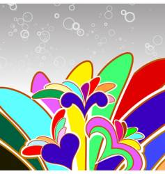 multicolor abstract background vector image