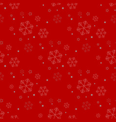 seamless christmas holidays background of a vector image
