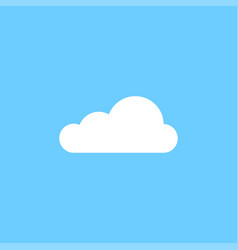 White cloud graphic icon design template vector