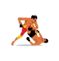 Martial Arts sign Cartoon vector image vector image