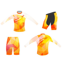 Sports graphic t-shirt vector