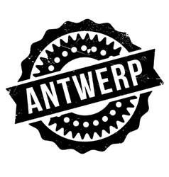 Antwerp stamp rubber grunge vector