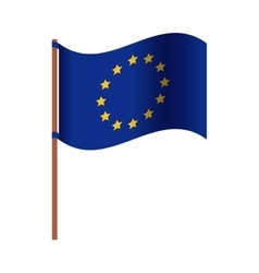 Isolated european union design vector image