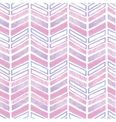 purple pink tribal chevron repeat pattern design vector image