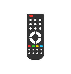 Remote control icon in flat style infrared vector