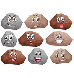 Rocks vector image