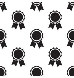 seamless awards pattern vector image
