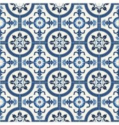 Seamless Turkish Moroccan Portuguese tiles vector