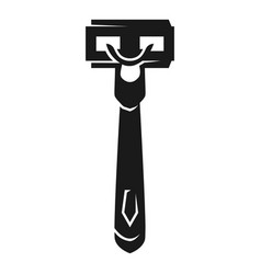 Shaver icon simple style vector