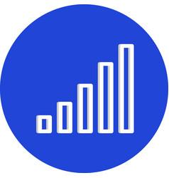 Signals icon vector