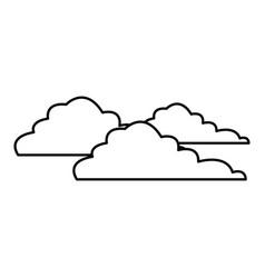 Cloud business connection data solution server vector