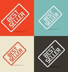 Best Seller Backgrounds vector image