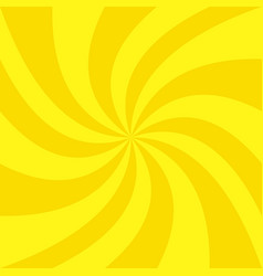 Abstract golden summer spiral sunbeam background vector