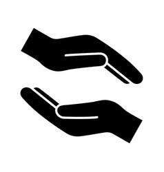 Charity glyph icon vector