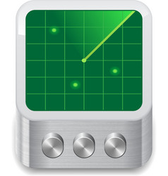 Icon for radar vector image