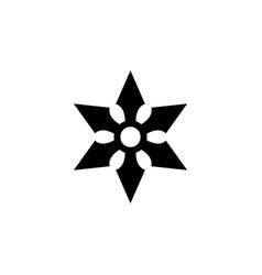 ninja icon vector image