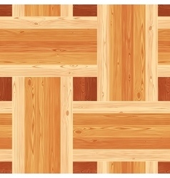 Platting Parquet Seamless Floor Pattern vector image