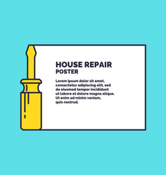 hand tools for home renovation and construction vector image