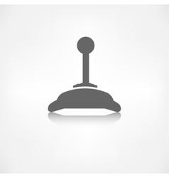 Joystick web icon vector