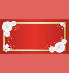 love greeting card with space for text and vector image