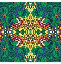 Lovely full frame floral design background vector image