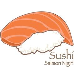 Nigiri Sushi vector