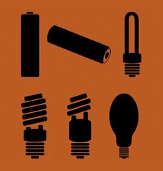 Symbols of hazardous waste vector