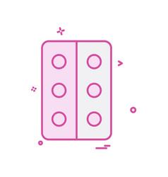 tablets icon design vector image
