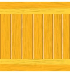 Wooden planks vector