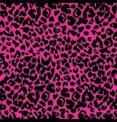 Seamless animal fur pattern vector image