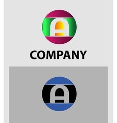 Set of letter A logo icons design template element vector image vector image