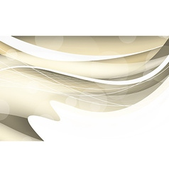 Abstract beige background with wave vector image vector image