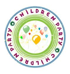 children party vector image vector image