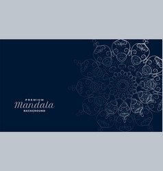 Arabesque arabis mandala decoration background vector