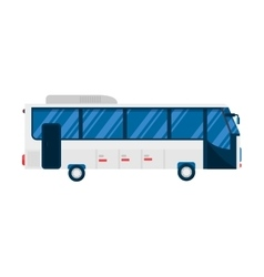 City bus vector image