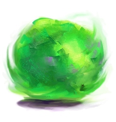 Drawing lime vector