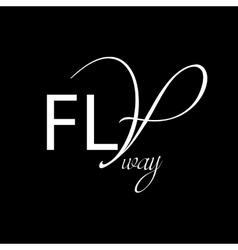 Fashionable background Fly away vector image