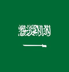 saudi arabia flag saudi arabia flag vector image