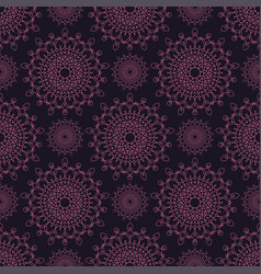 Seamless pattern in oriental style vector