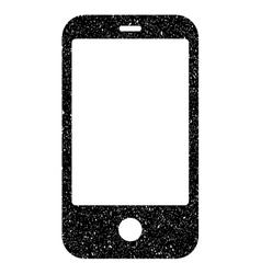 Smartphone Grainy Texture Icon vector