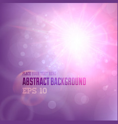 Soft Coloured Purple Abstract Background vector image