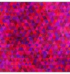 Retro Triangles Seamless Pattern vector image