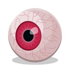 eyeball isolated vector image vector image