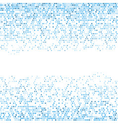 Abstract background with pixelated design vector