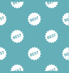 best sign pattern seamless blue vector image