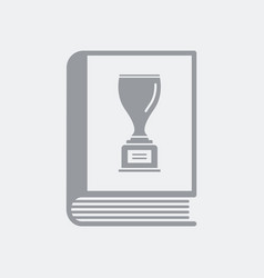 Book of records vector