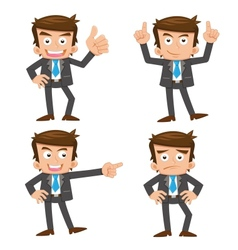 Businessman idea vector image