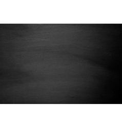 Close up of clean school blackboard vector