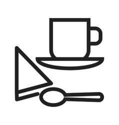 Coffee Served vector image
